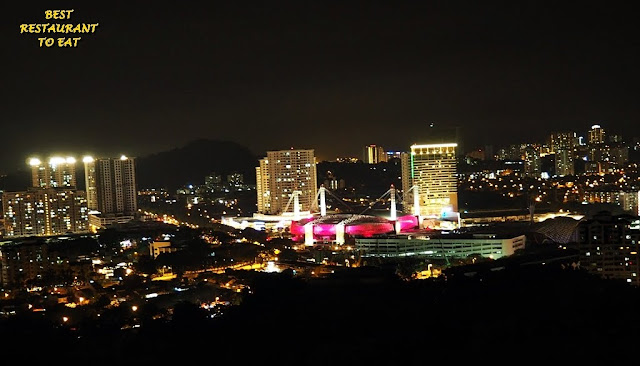Night View From Hotel Equatorial Penang