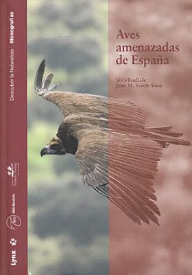 Libro: Aves amenazadas de España