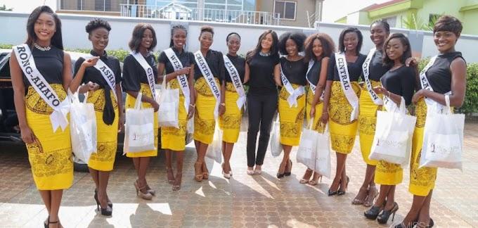 2017 Miss Universe Ghana: Meet top 12 finalists!