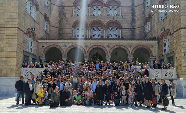 Με 600 προσκυνητές ο Μητροπολίτης Αργολίδας στην Αίγινα