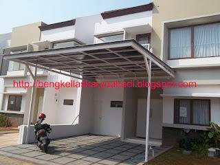 CANOPY MINIMALIS PROYEK JAKARTA CITY GARDEN