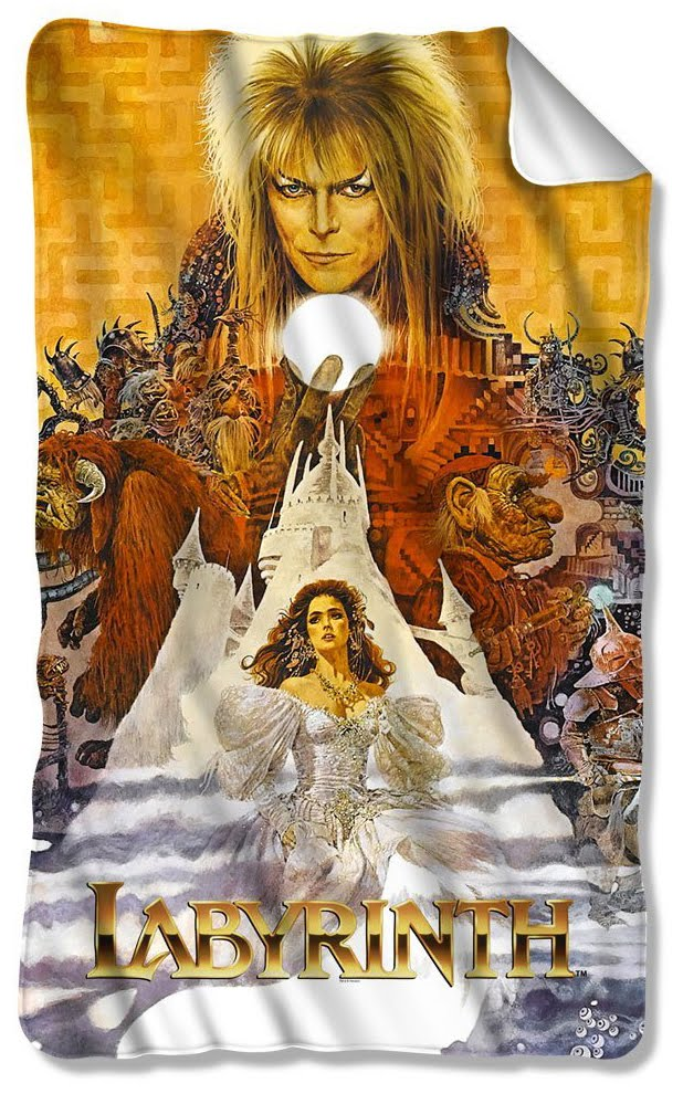 Muppet Stuff: Throw-back Thursday: Labyrinth Blankets! Labyrinth 1986 Poster