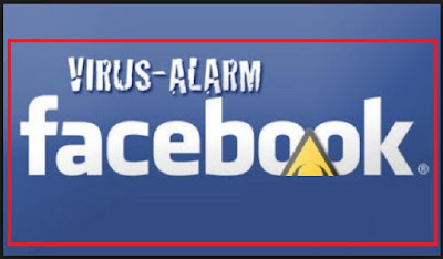 Virus alarm facebook