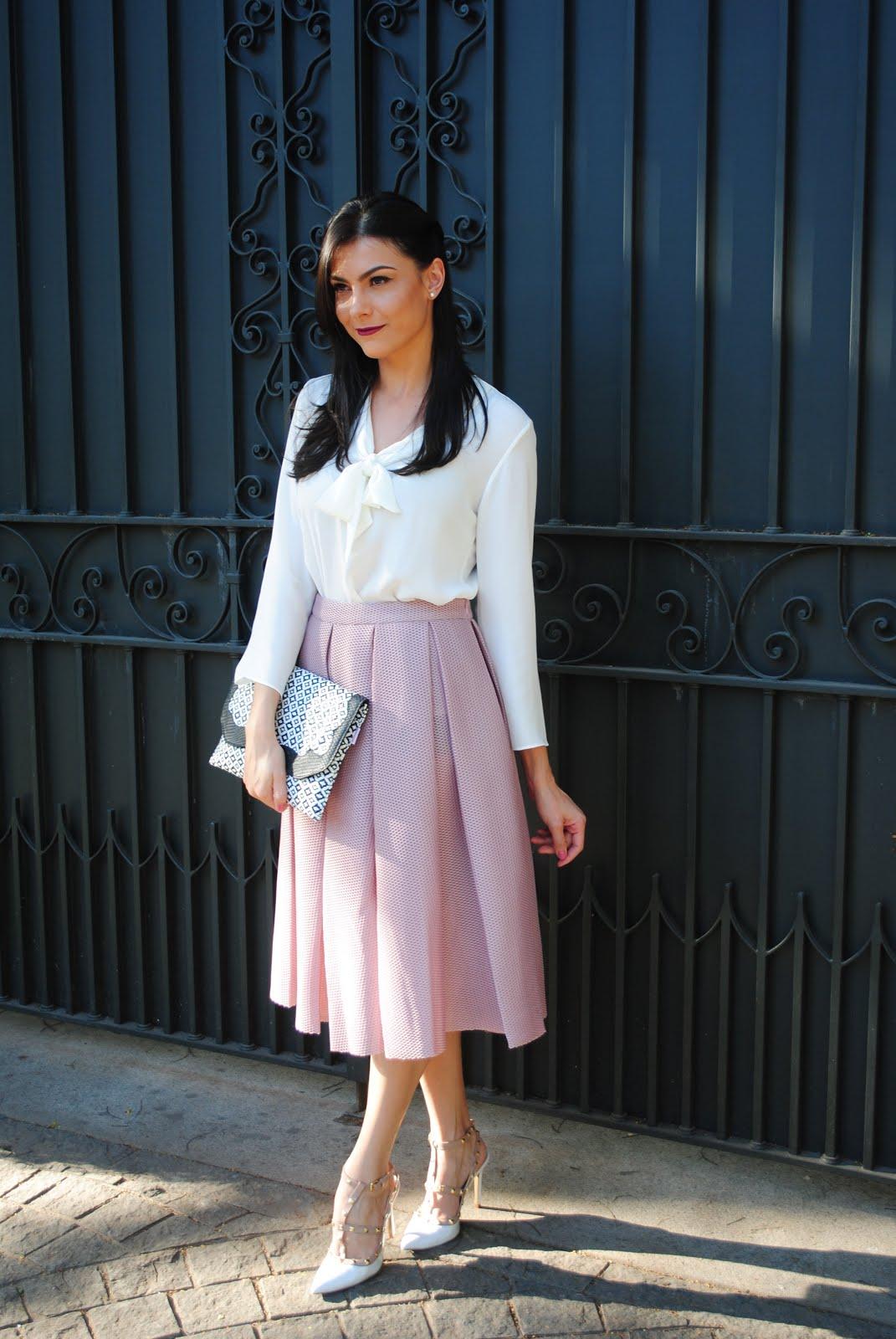 Romwe skirt - Blog Cris Felix