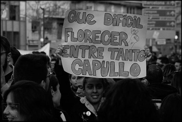 cartel,feminista,valencia,8M,manifestacion