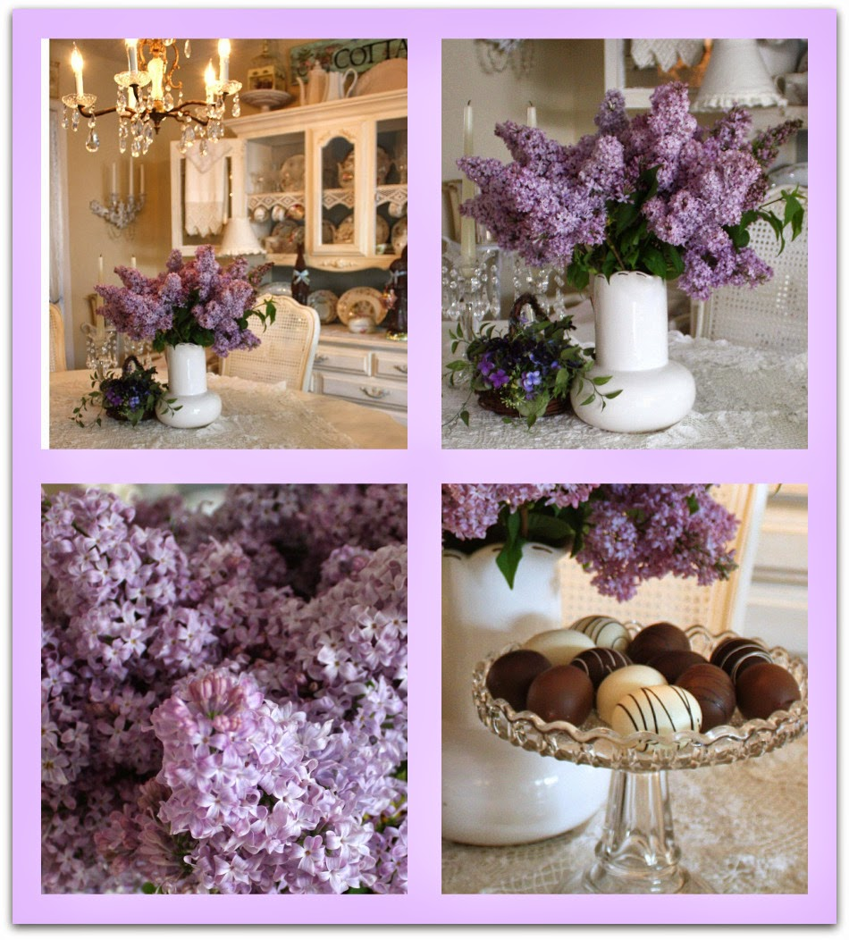 My Romantic Home: Lilacs