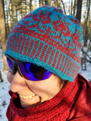 Omly Crafts Icelandic Thistle Hat