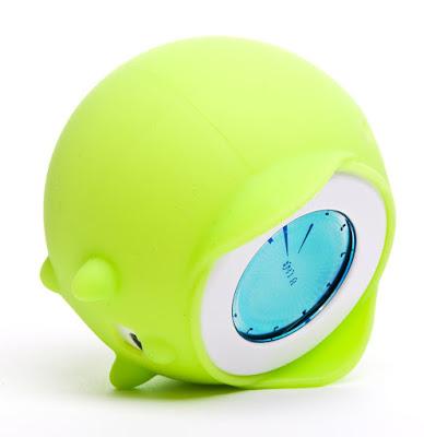 Ticky Runaway Analog Alarm Clock (Kiwi) ~ Clocky Alarm Clock