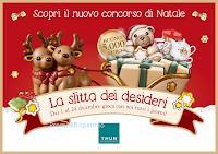 Logo Thun : vinci la Slitta di Natale o un Teddy Maxi con La Slitta dei desideri
