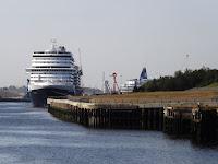 The Koningsdam Tyne, Large cruise ship Tyne, Cruise Ships Tyne,Ships on the  Tyne, Photos Tyne Shipping. Port of Tyne, Northumbrian Images Blogspot,North East, England,Photos,Photographs