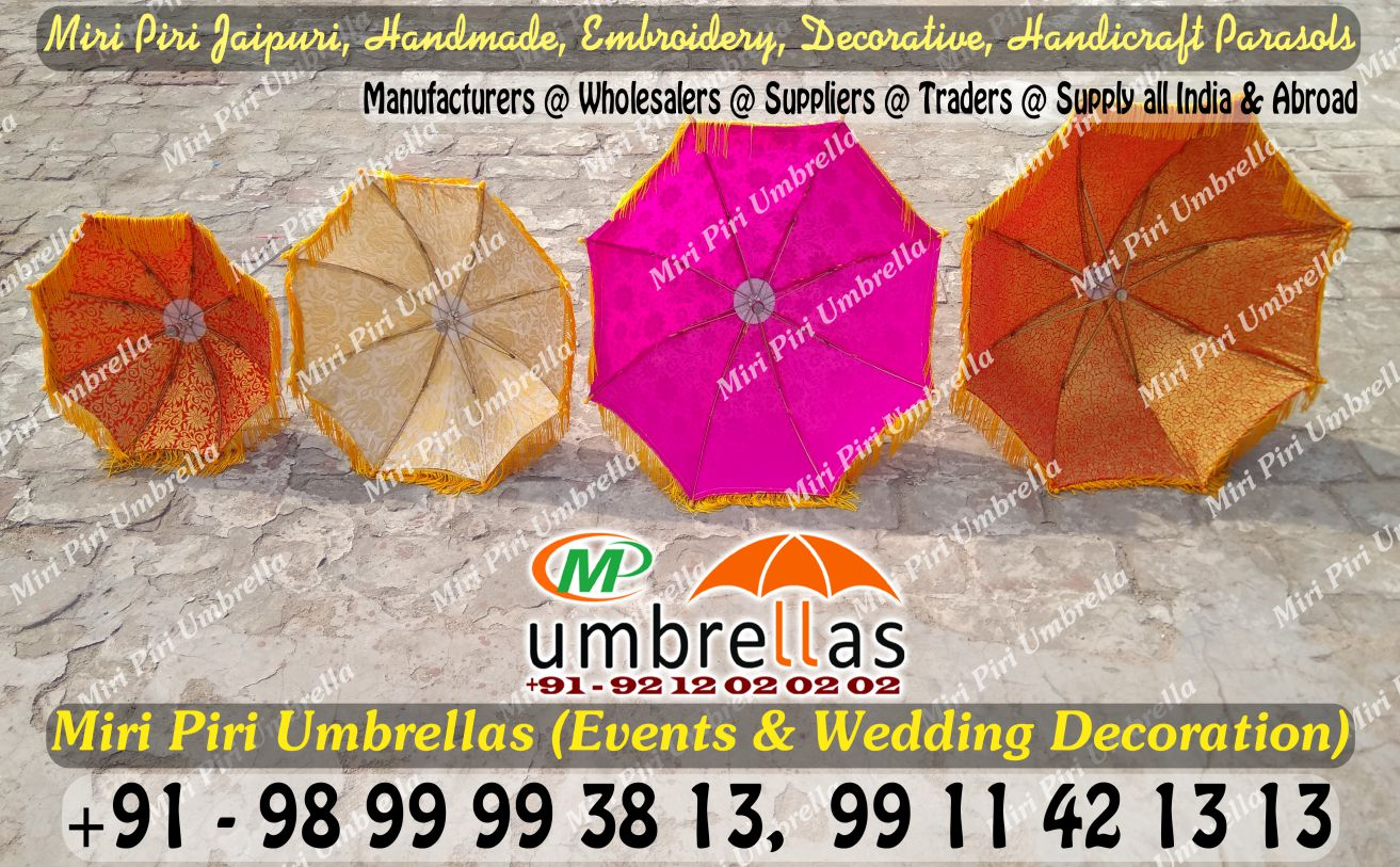 Wedding umbrellas parasols manufacturers suppliers wholesalers indian wedding umbrellas for sale wedding umbrella handmade parasols junglespirit Images