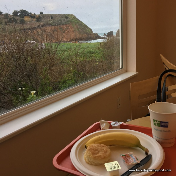 view from breakfast room at Holiday Inn Express at Rockaway Beach in Pacifica, California