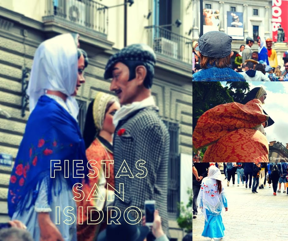 Fiestas de San Isidro en Madrid マドリードのサン·イシドロ祭りの様子