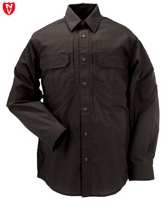 5.11 TACLITE® Pro Long Sleeve Black Shirt