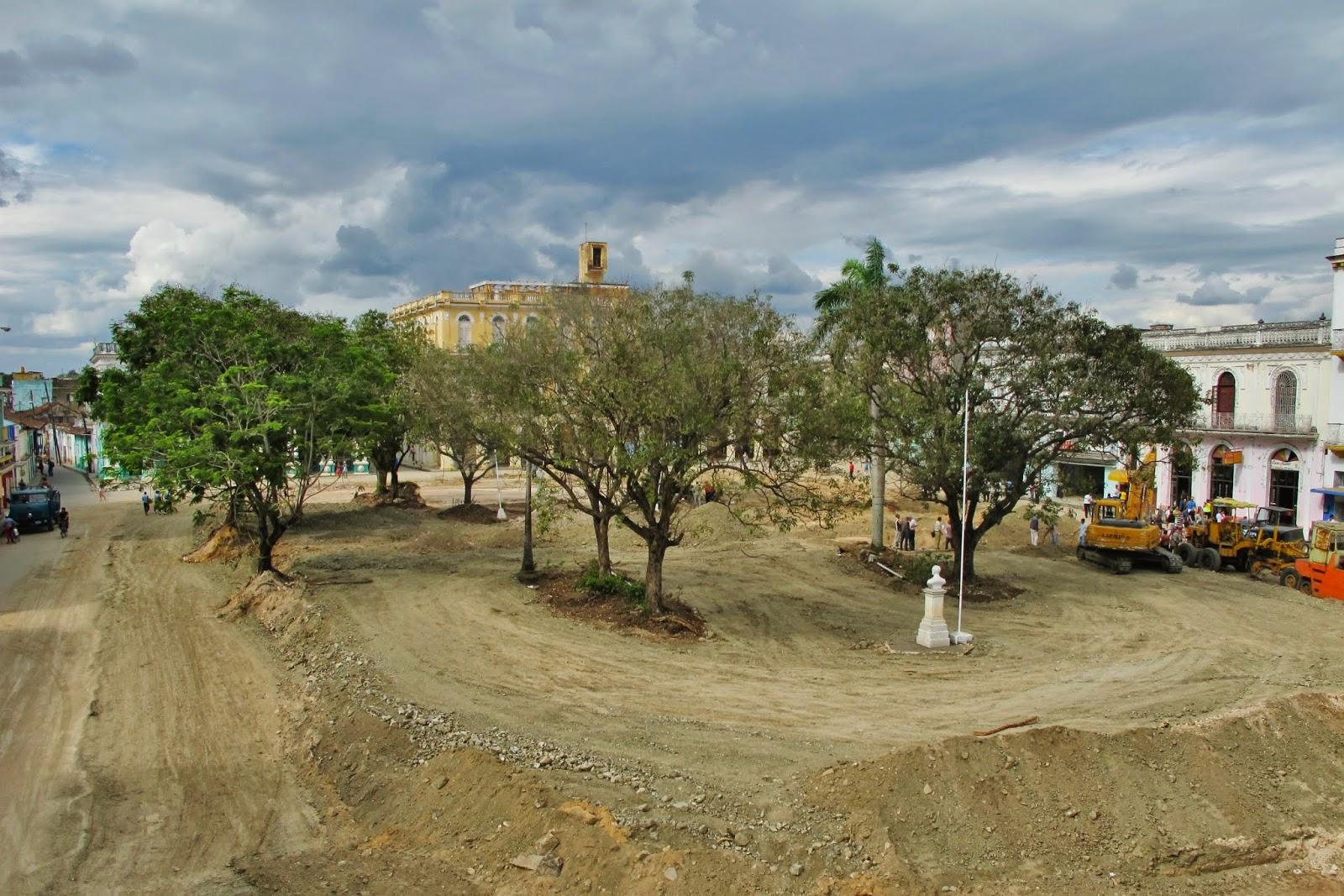 Parque Serafín Sanchez, em Sanctu Spiritus, na região central de Cuba