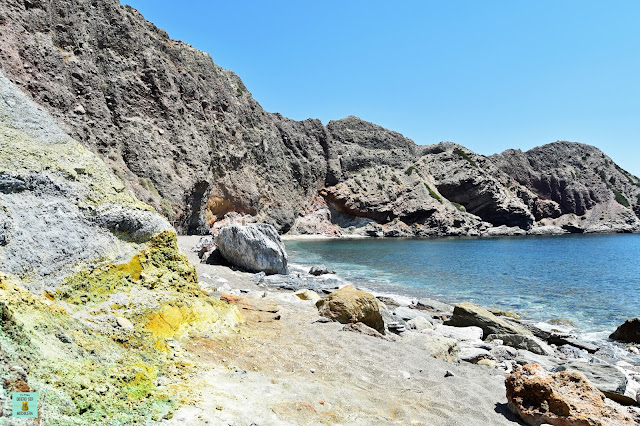 Paliochori, isla de Milos (Grecia)