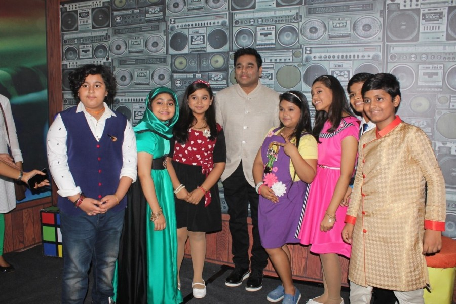Sa Re Ga Ma Pa Li'l Champs Celebrate Moms Day with Singer AR Rahman