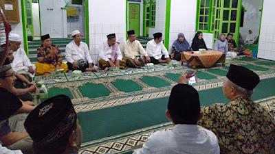 Forkompimda Purworejo Melaksanakan Tarhim (Terawih Silahturrahmi ) di Desa Tunjungtejo