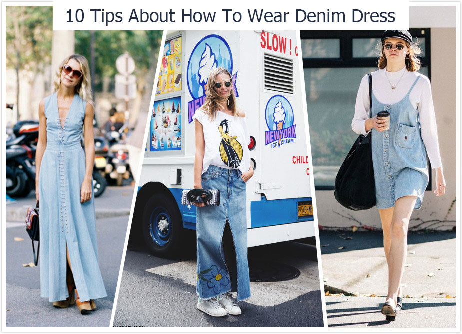 10 Tips About How To Wear Denim Dress Morimiss Blog