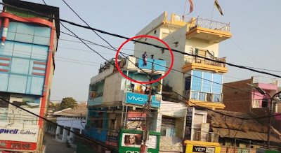 Sagar Baby hanged from terrace