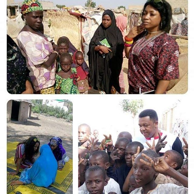 Photos: Bimbo Akintola & Francis Duru At IDP Camp Maiduguri