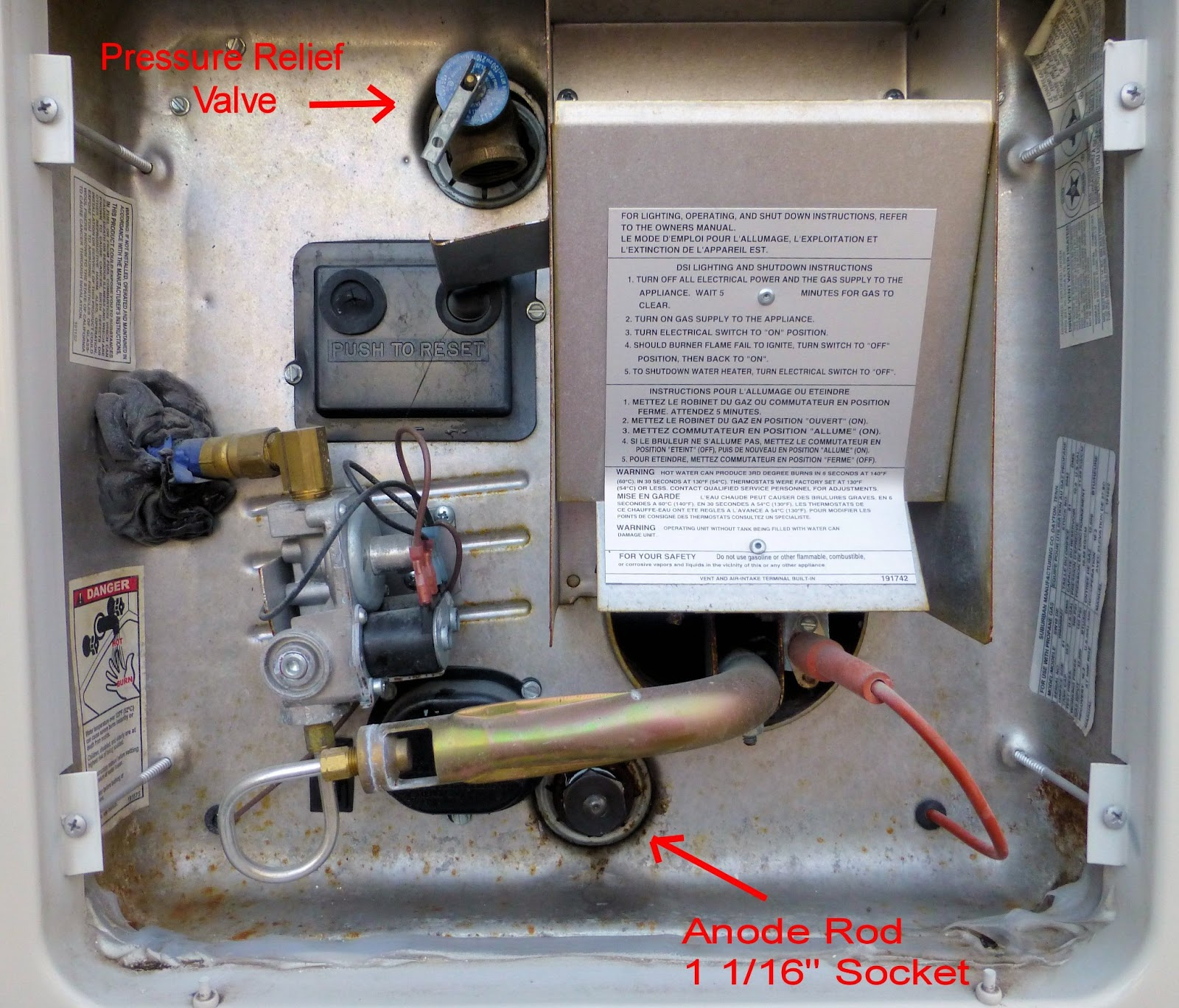 Atwood Rv Water Heater Parts