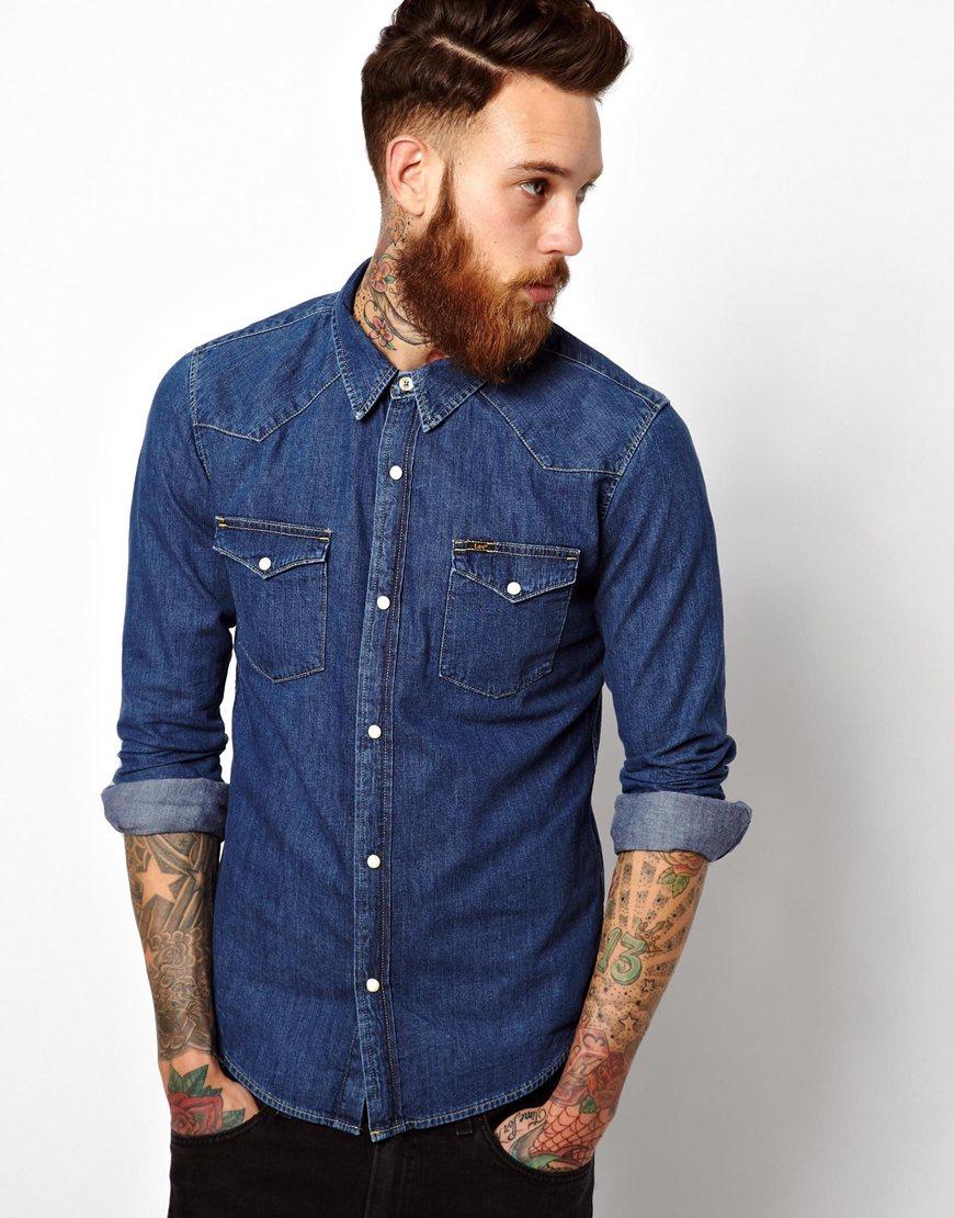 S lo moda para hombres c mo usar y combinar una camisa for Combinar camisa vaquera negra hombre