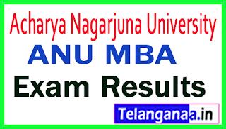 ANU MBA Regular Supply Exam Results