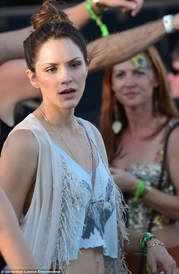 Katherine McPhee at the 2014 Coachella Music and Arts Festival