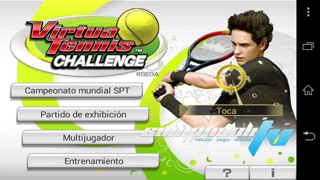 Virtua Tennis Challenge Español Android APK