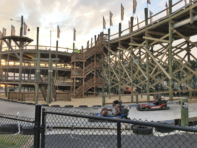 speed world go kart roller coaster ocean city maryland