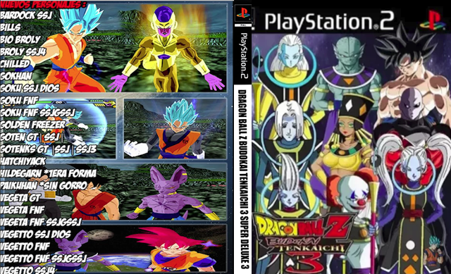 DOWNLOAD!! DRAGON BALL Z BUDOKAI TENKAICHI 3 VERSION LATINO