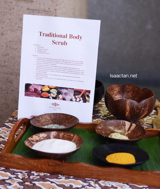 Traditional Body Scrub