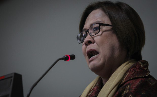 De Lima claims Sebastian 'pressured' to testify against her