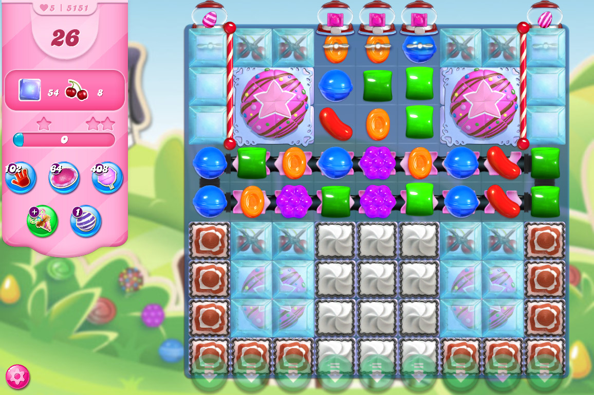 Candy Crush Saga level 5151