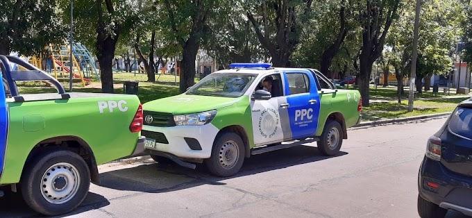 Informan la falsa circulación de agentes de seguridad motorizados