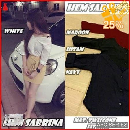 AFO158 Model Fashion Hem Sabrina Modis Murah BMGShop