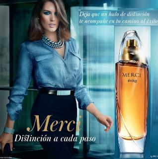 Perfume Merci de Esika de 50 ml para mujer
