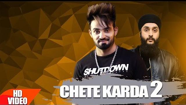 Resham Singh Anmol - Chete Karda 2 Lyrics