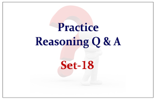Practice Reasoning Questions Set-18