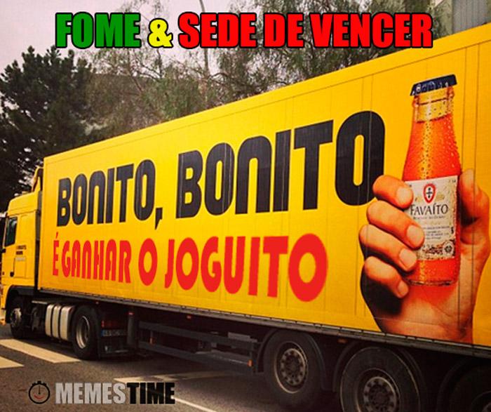 Meme Portugal Croácia – Bonito, Bonito… É Ganhar um Joguito