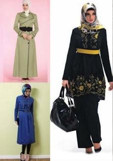 Baju Tunik Batik Atasan Untuk Wanita Muslimah