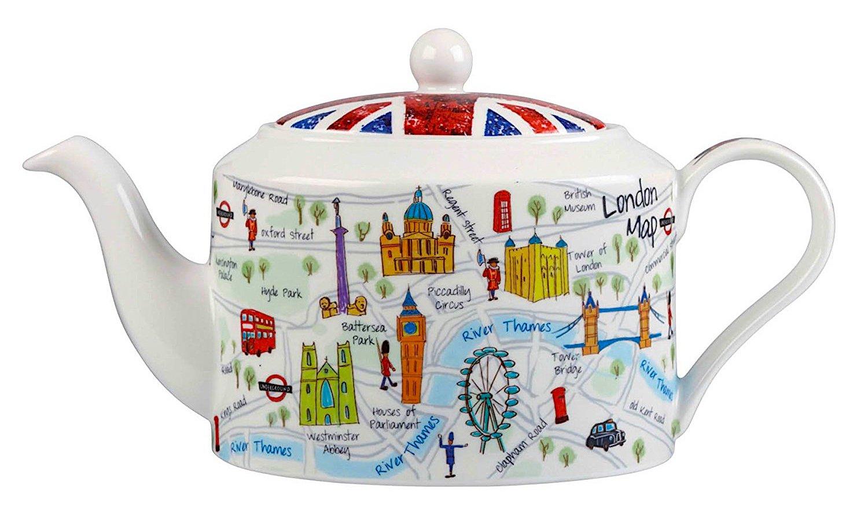 чайник с картинками лондона вместе записывают общие