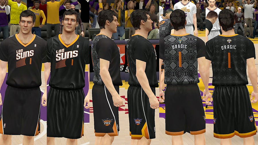 Los Suns Latin Nights Sleeved Jersey