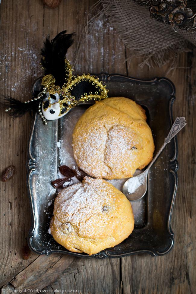 zaleti - słodkie bułeczki kukurydziane z Wenecji