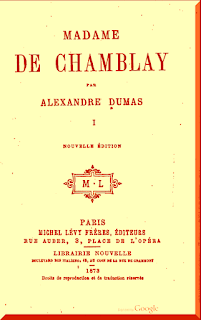 La Señora de Chamblay Alejandro Dumas