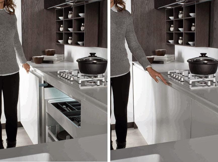 12 ideas para hacer más cómodo el trabajo en la cocina - Cocinas con ...