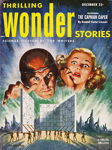 "Thrilling Wonder Stories, diciembre 1952 - ""The Caphian Caper"""