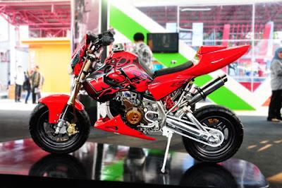 Modifikasi Kawasaki Ksr Kumpulan Modifikasi Motor Info