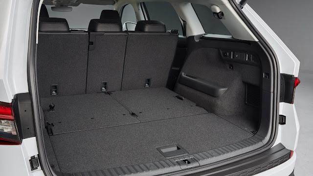 El Skoda Kodiaq SUV 2017 posee una alta capacidad de carga
